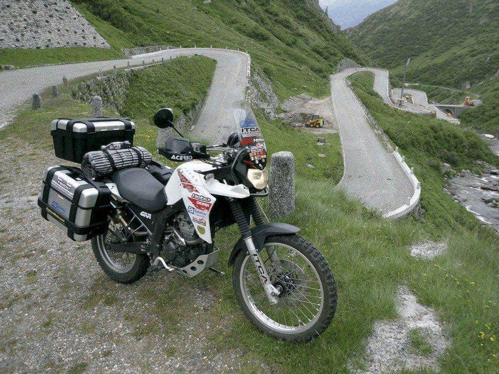 Derbi Terra Adventure de 125 cc, la moto de Fernando