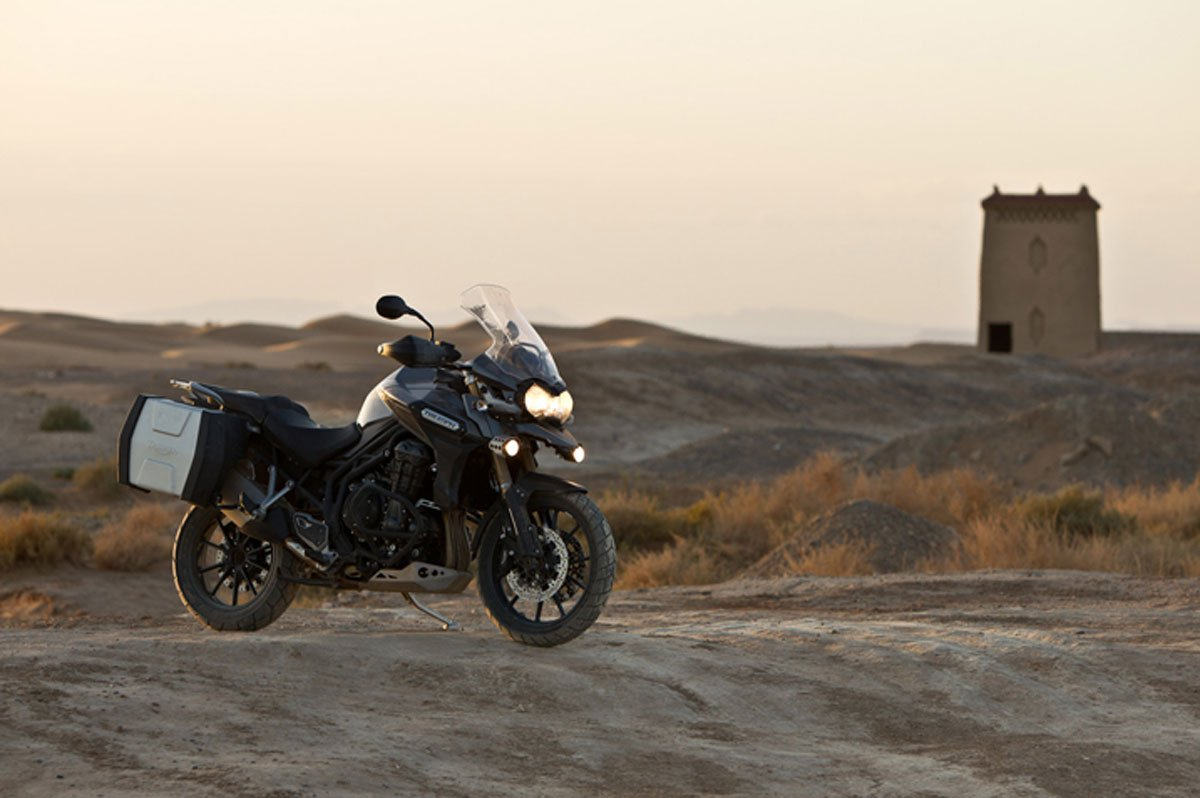 Con la nueva Triumph Explorer, ya no existen fronteras