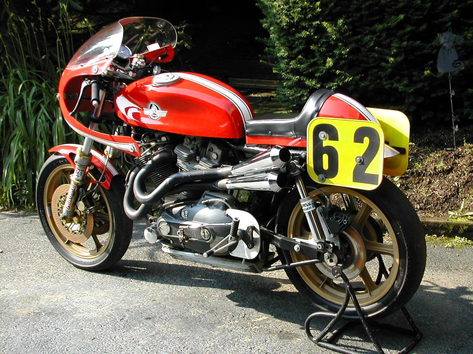 La Harley XR1000 de McClure