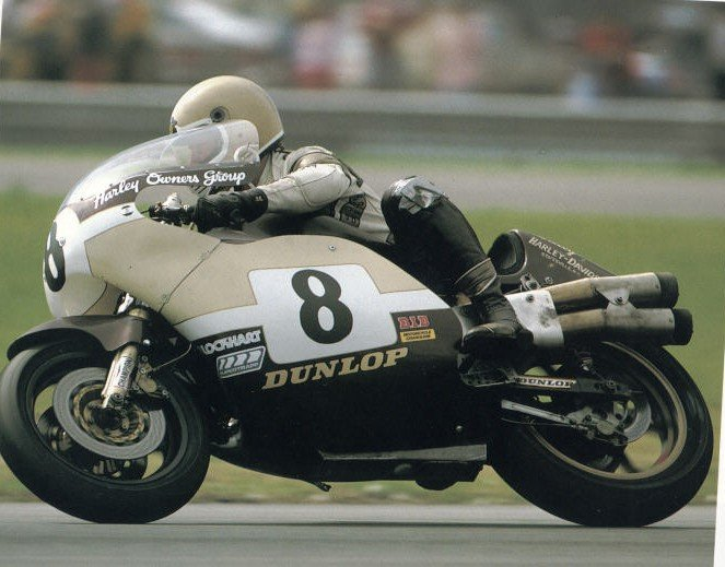 La Harley XR1000 fue imbatible en las BOT del Campeonato AMA