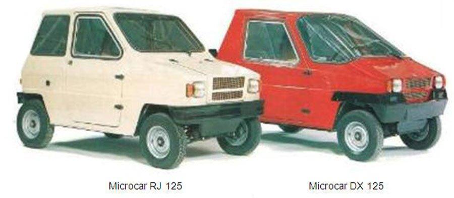 El Microcar francés con los motores Montesa