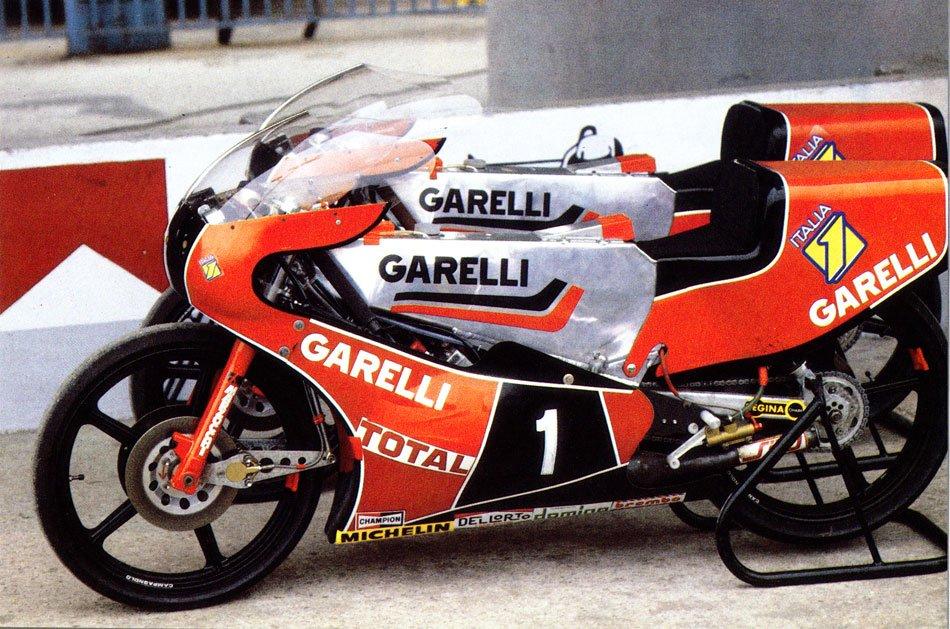 Garelli 125 bicilíndricas