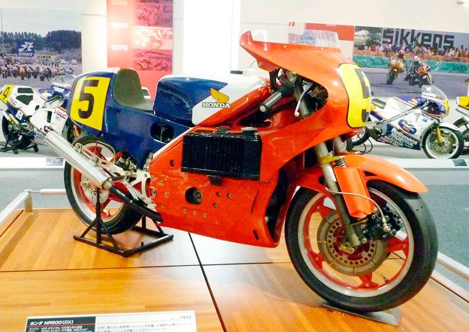 Honda NR 500 4 tiempos