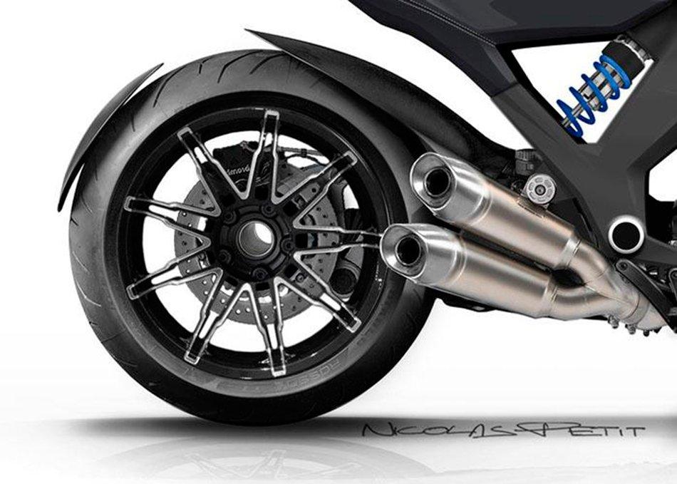 BMW R1600C Concept Wunderlich
