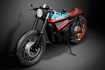 Model Electric Cafe Racer 1