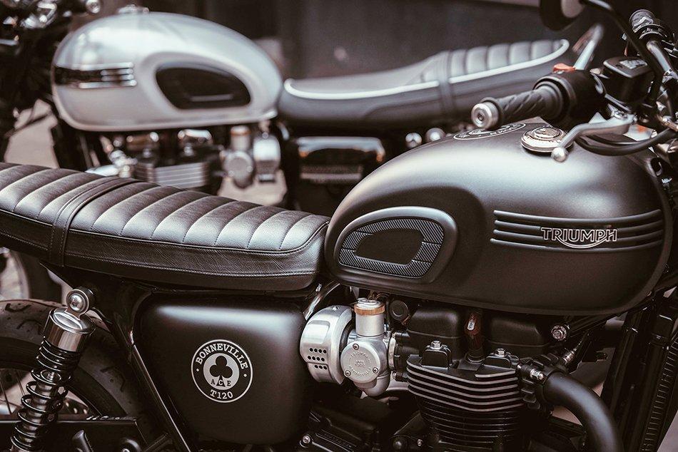 Para más información puedes acceder la web de Triumph Motorcycles