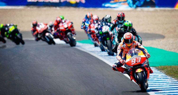 podio de motogp