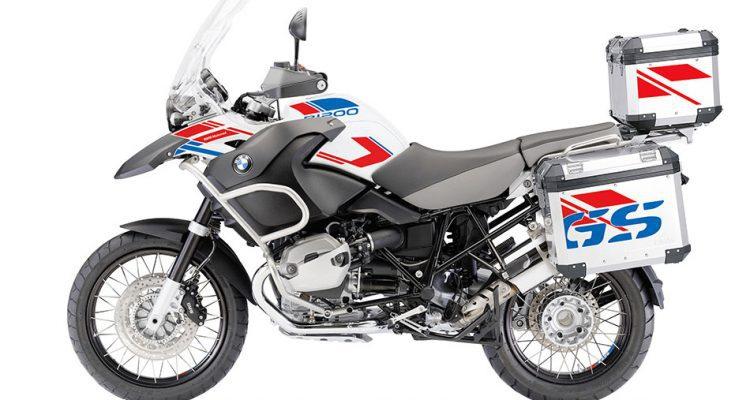 El set de adhesivos de BMW Motorrad añade más color y asegura un diseño único para la moto.