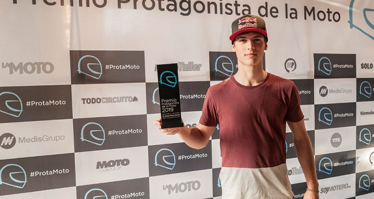 """Protagonista de la Moto"""