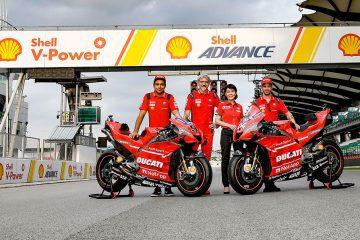 Shell y Ducati
