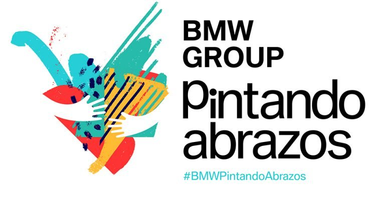 BMW Group pintando abrazos