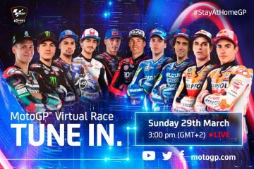 Estrellas de MotoGP se retan a una Carrera Virtual