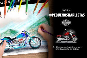 Harley-Davidson lanza un concurso #PequeñosHarlistas