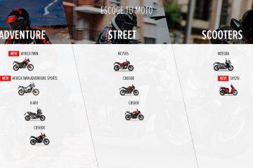 App Honda Motorcycles Experience
