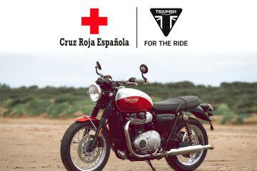 Triumph se suma a Cruz Roja en su lucha contra el COVID-19