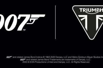 Triumph primera moto oficial 007James Bond