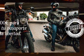 Harley-Davidson te devuelve hasta 1.000 € de los gastos de autoescuela
