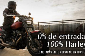 Harley-Davidson con una atractiva oferta de financiación