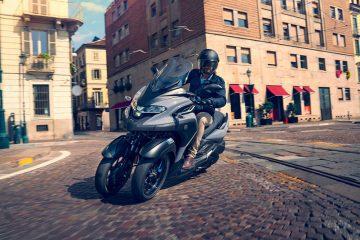 Yamaha anuncia el precio de la nueva Tricity 300 y tres kits de accesorios