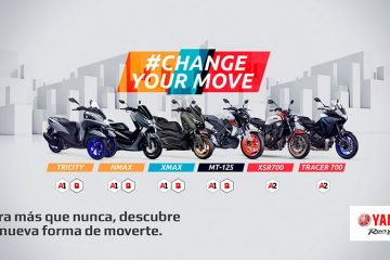 Yamaha Campaña #Changeyourmove