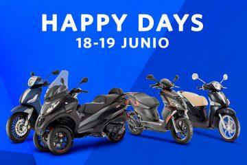 Nueva Promoción Happy Days Piaggio y Vespa