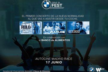 BMW organiza el primer concierto en formato autocine en España