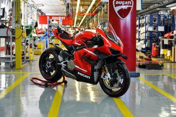 Ducati comienza la producción de la Superleggera V4