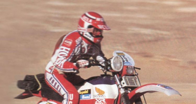 La historia de Honda en el Rally Dakar