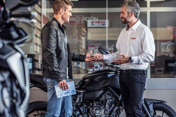 Nueva estrategia de ventas para motocicletas y scooters Yamaha en España