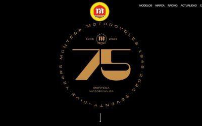 Montesa presenta su nueva web oficial