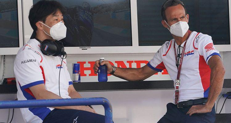 """Alberto Puig: """"Estamos muy agradecidos de que Marc viniera a Jerez y lo intentara"""""""
