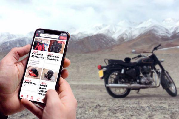 Uves, la app de compraventa de equipación para moteros, integra el sistema de pago y envío seguro de Beseif
