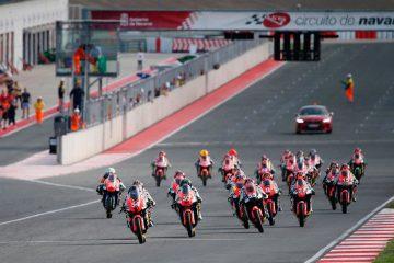 Diecisiete pilotos de la Cuna de Campeones comienzan el ESBK en Navarra