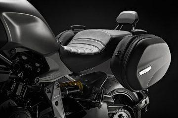 El placer de viajar en moto se duplica con los accesorios turismo de Ducati Performance