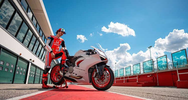 Nueva decoración para la Ducati Panigale V2