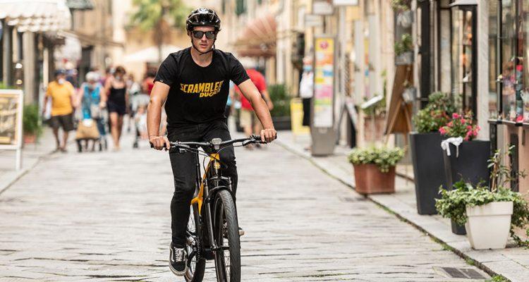 e-Scrambler: la bicicleta eléctrica para moverse libremente y con estilo