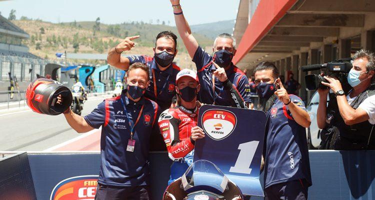 FIM CEV Repsol. Acosta, Montella y Alonso, vencedores en la segunda cita del FIM CEV Repsol en Portimao