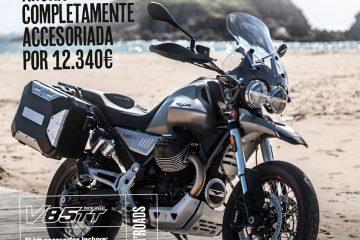 Todas las Moto Guzzi V85 TT pueden ir con accesorios Travel