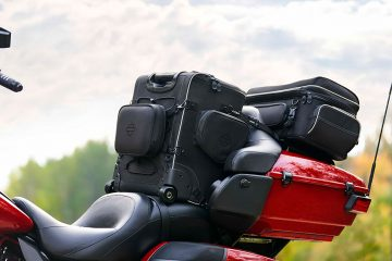 La colección de maletas Onyx de Harley-Davidson