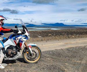 La Honda Africa Twin pone rumbo hacia Islandia para su tercer Adventure Roads Tour en 2021