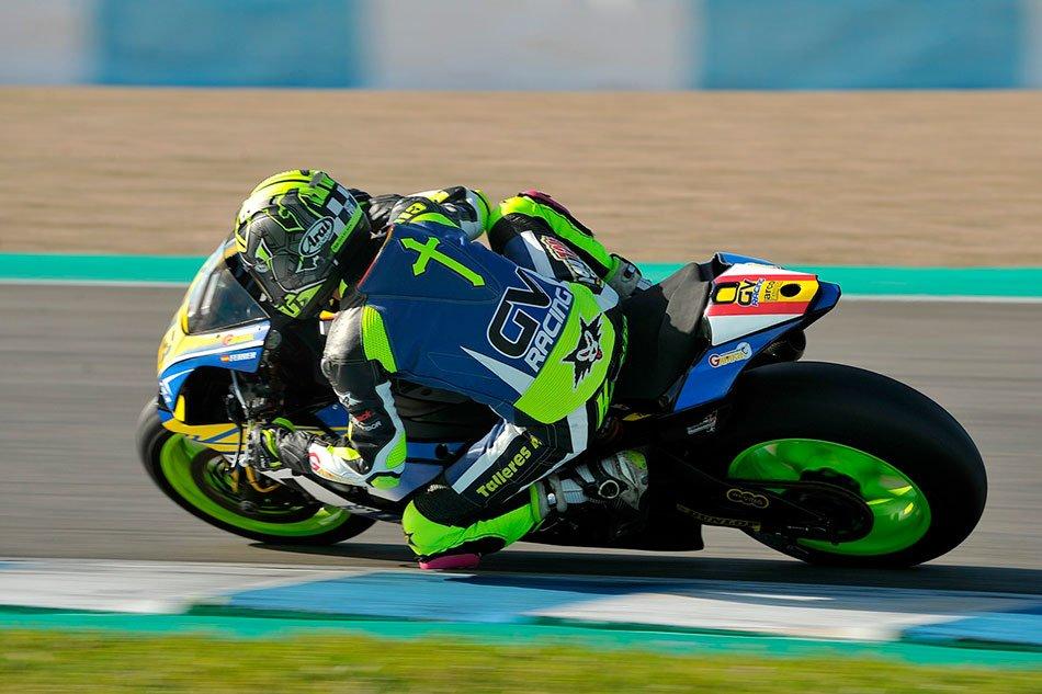 Kike Ferrer correrá como wild card en el ESBK con el Yamaha Stratos
