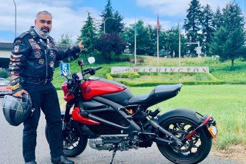 El primer viaje con una Harley-Davidson LiveWire por la West Coast Green Highway