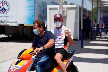 Márquez, declarado apto para el GP de Andalucía