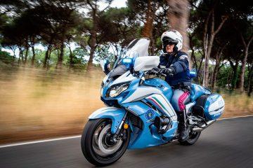 La Yamaha FJR1300AE se convierte en la nueva motocicleta de la Policía Nacional Italiana