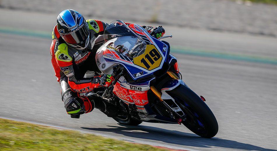 Romain Galland se une al Team Yamaha Stratos como wild card en Barcelona