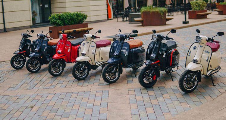 Royal Alloy – Pasión por los scooters clásicos