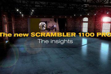 Un vídeo de realidad aumentada muestra todos los detalles de la Ducati Scrambler 1100 Pro