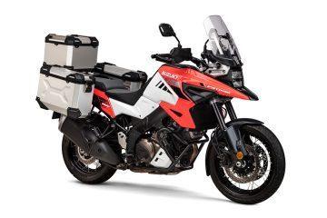 Suzuki lanza seis completos kits de accesorios para la nueva V-Strom 1050