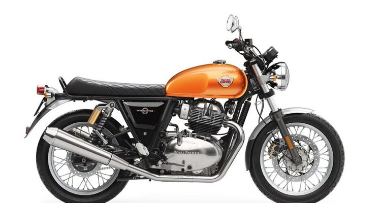 Royal Enfield Interceptor 650 la moto más vendida en Reino Unido en junio 2020