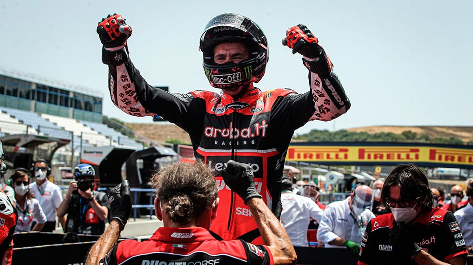 Scott Redding, equipo Aruba.it Racing - Ducati